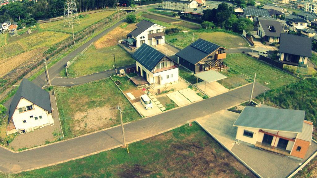 出水市向江町の不動産分譲地|田頭建設|田頭産業