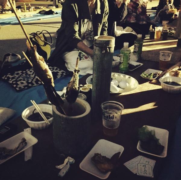 竹かっぽ酒