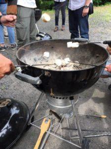 BBQ マシュマロ
