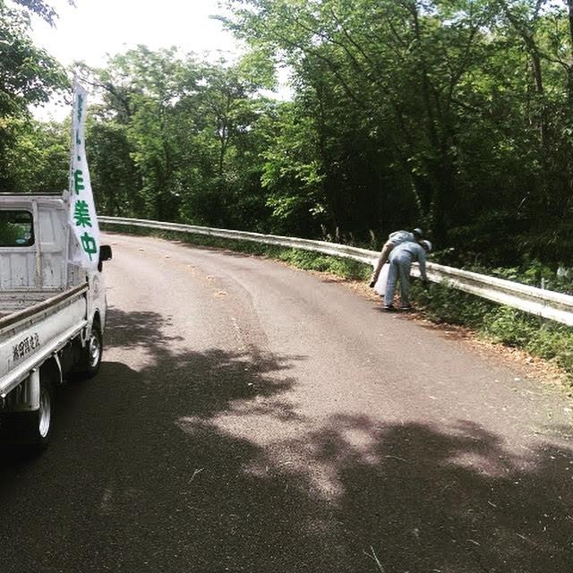 201905東光山公園 清掃ボランティア 清掃状況