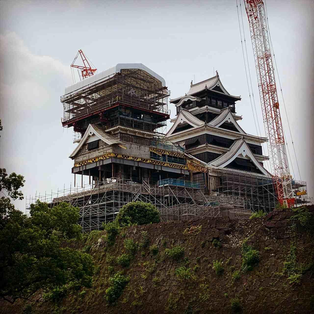 熊本城復興工事