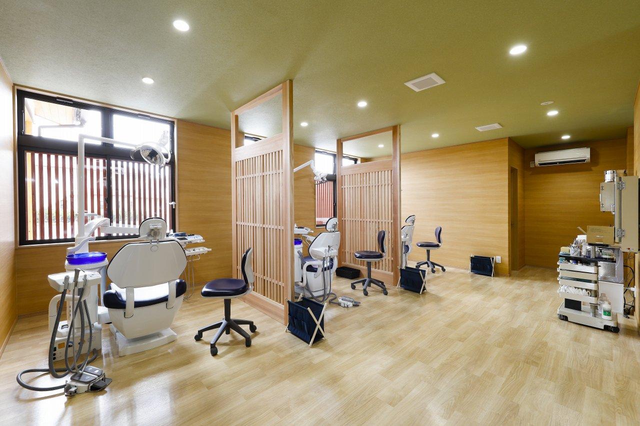 歯科医院内観診療ブース
